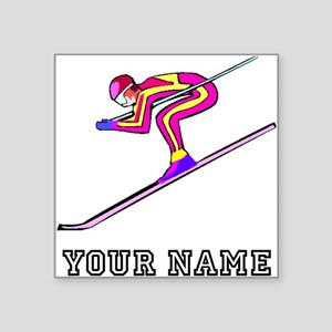 Ski Racer (Custom) Sticker